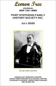 Lemon Tree Journal July 2020